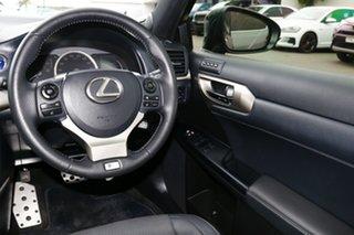 2017 Lexus CT ZWA10R CT200h F Sport Grey 1 Speed Constant Variable Hatchback Hybrid