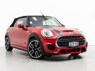 2016 Mini Cooper R57 MY14 JCW Red 6 Speed Automatic Convertible.