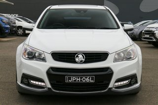 2014 Holden Commodore VF MY15 SS V Redline White 6 Speed Manual Sedan