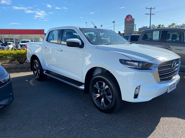 Demo Mazda BT-50 Gladstone, 2020 Mazda BT-50 Ice White Automatic