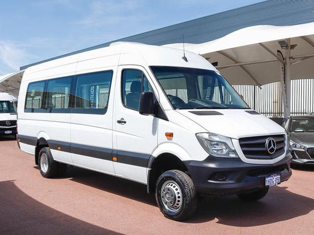 Used Mercedes-Benz Sprinter 906 MY14 516CDI LWB Hi Roof, 2016 Mercedes-Benz Sprinter 906 MY14 516CDI LWB Hi Roof White 7 Speed Automatic Van