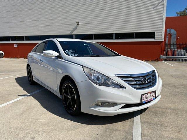 Used Hyundai i45 YF MY11 Active Morayfield, 2012 Hyundai i45 YF MY11 Active White 6 Speed Automatic Sedan