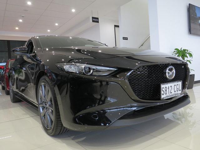 Demo Mazda 3 BP2H76 G20 SKYACTIV-MT Touring, 2019 Mazda 3 BP2H76 G20 SKYACTIV-MT Touring Jet Black 6 Speed Manual Hatchback