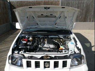 2015 Suzuki Jimny MY15 White 5 Speed Manual 4x4 Wagon.