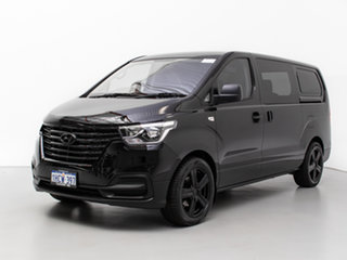 2019 Hyundai iLOAD TQ4 MY19 3S Liftback Black 5 Speed Automatic Van.