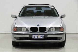 1997 BMW 523i E39 Silver 5 Speed Auto Steptronic Sedan.