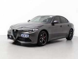 2019 Alfa Romeo Giulia MY19 Veloce Grey 8 Speed Automatic Sedan.