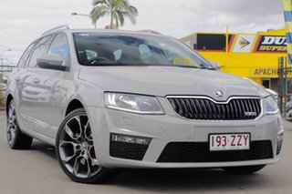 2014 Skoda Octavia NE MY14 RS DSG 135TDI Steel Grey 6 Speed Sports Automatic Dual Clutch Wagon.