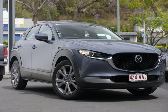 Demo Mazda CX-30 DM2WLA G25 SKYACTIV-Drive Touring Newstead, 2020 Mazda CX-30 DM2WLA G25 SKYACTIV-Drive Touring Polymetal Grey 6 Speed Sports Automatic Wagon