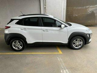 2017 Hyundai Kona OS MY18 Active 2WD Chalk White 6 Speed Sports Automatic Wagon.