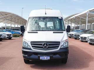 2016 Mercedes-Benz Sprinter 906 MY14 516CDI LWB Hi Roof White 7 Speed Automatic Van.