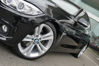 2014 BMW 428i F36 Gran Coupe Luxury Line Black Sapphire 8 Speed Automatic Coupe.