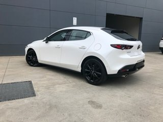 2020 Mazda 3 BP2HLA G25 SKYACTIV-Drive Astina Snowflake White 6 Speed Sports Automatic Hatchback