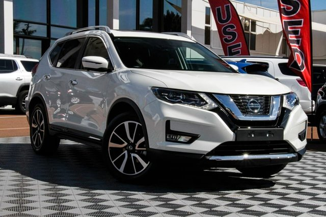 Used Nissan X-Trail T32 Series II Ti X-tronic 4WD, 2020 Nissan X-Trail T32 Series II Ti X-tronic 4WD Ivory Pearl 7 Speed Constant Variable Wagon
