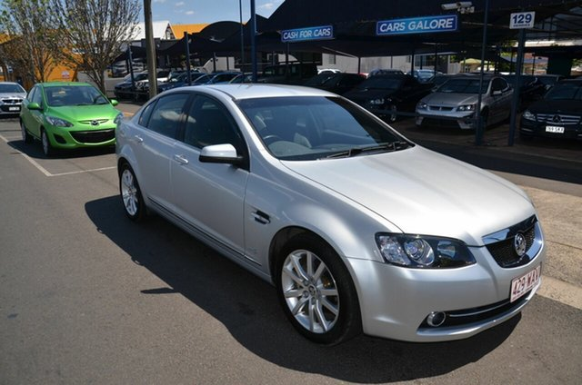 Used Holden Calais VE II MY12 Toowoomba, 2012 Holden Calais VE II MY12 Silver 6 Speed Automatic Sedan