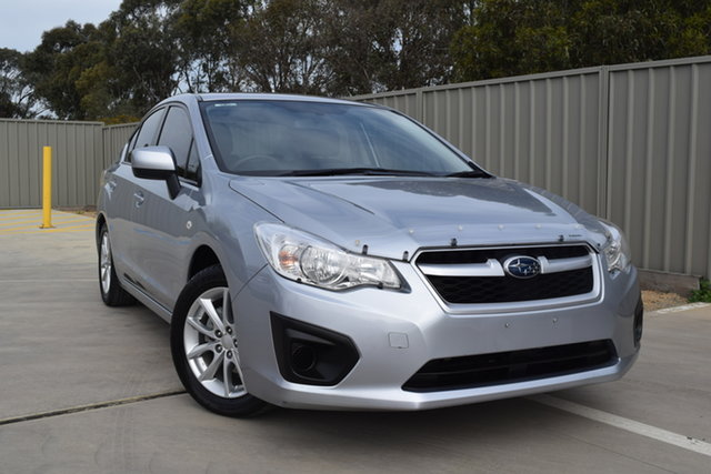 Used Subaru Impreza G4 MY14 2.0i Lineartronic AWD Echuca, 2014 Subaru Impreza G4 MY14 2.0i Lineartronic AWD Ice Silver 6 Speed Constant Variable Sedan