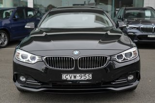 2014 BMW 428i F36 Gran Coupe Luxury Line Black Sapphire 8 Speed Automatic Coupe