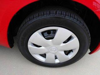 2006 Toyota Yaris NCP90R YR Red 5 Speed Manual Hatchback