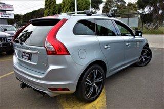 2016 Volvo XC60 DZ MY17 T6 Geartronic AWD R-Design Silver 8 Speed Sports Automatic Wagon.