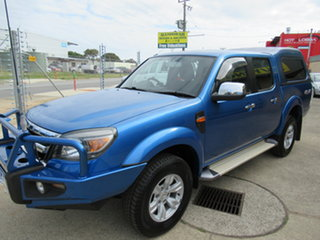 2010 Ford Ranger PK XLT Blue 5 Speed Manual Spacecab.