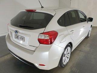 2013 Subaru Impreza G4 MY13 2.0i AWD White 6 Speed Manual Hatchback