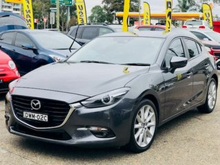 2018 Mazda 3 BN5438 SP25 SKYACTIV-Drive GT Grey 6 Speed Sports Automatic Hatchback.
