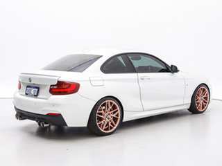 2015 BMW 228i F22 M Sport White 8 Speed Automatic Coupe