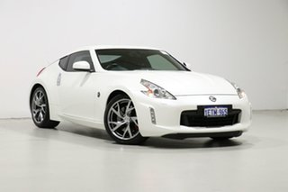 2015 Nissan 370Z Z34 MY15 White 7 Speed Automatic Coupe.