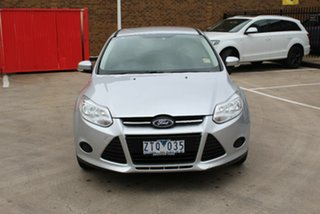 2013 Ford Focus LW MK2 Upgrade Ambiente Silver 6 Speed Automatic Sedan.