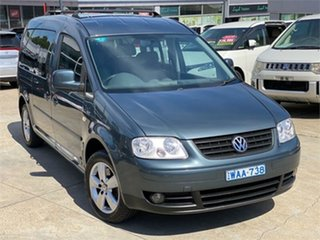 2008 Volkswagen Caddy 2K Life Grey 6 Speed Sports Automatic Dual Clutch Wagon.