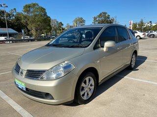2009 Nissan Tiida C11 MY07 ST-L Gold 4 Speed Auto Active Select Sedan