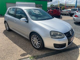 2008 Volkswagen Golf GT Sports Silver 6 SP Auto Active Select Hatchback.