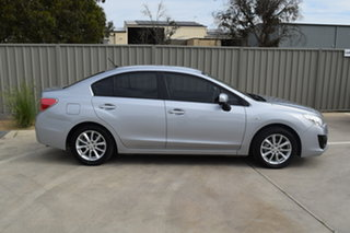 2014 Subaru Impreza G4 MY14 2.0i Lineartronic AWD Ice Silver 6 Speed Constant Variable Sedan