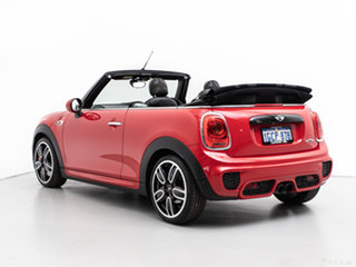 2016 Mini Cooper R57 MY14 JCW Red 6 Speed Automatic Convertible