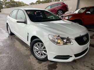 2014 Holden Commodore VF MY14 Evoke White 6 Speed Sports Automatic Sedan.