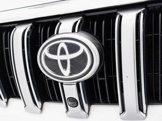 2016 Toyota Landcruiser Prado GDJ150R MY16 Kakadu (4x4) White 6 Speed Automatic Wagon