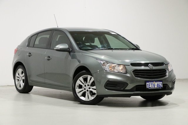 Used Holden Cruze JH MY15 Equipe, 2015 Holden Cruze JH MY15 Equipe Grey 6 Speed Automatic Hatchback