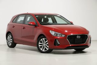 2019 Hyundai i30 PD2 MY19 Active Red 6 Speed Automatic Hatchback.