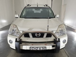 2009 Nissan X-Trail T31 ST-L White 1 Speed Constant Variable Wagon.
