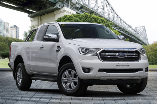 Used Ford Ranger PX MkIII 2019.00MY XLT, 2019 Ford Ranger PX MkIII 2019.00MY XLT White 6 Speed Sports Automatic Super Cab Pick Up