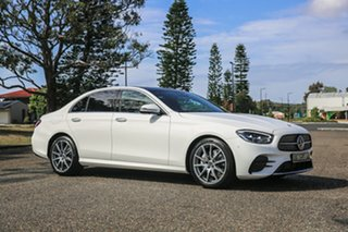 2020 Mercedes-Benz E-Class W213 800+050MY E200 9G-Tronic PLUS Polar White 9 Speed Sports Automatic.