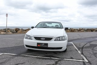 2004 Ford Falcon BA Classic XT White 4 Speed Sports Automatic Sedan.