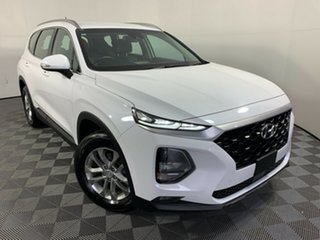 2018 Hyundai Santa Fe DM5 MY18 Active White 6 Speed Sports Automatic Wagon.