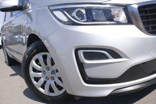 2018 Kia Carnival YP MY19 S Silky Silver 8 Speed Sports Automatic Wagon.