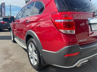 2015 Holden Captiva CG MY15 7 AWD LTZ Burgundy 6 Speed Sports Automatic Wagon