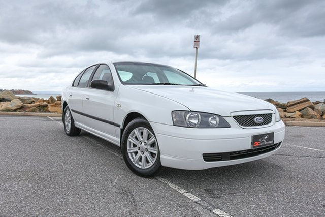 Used Ford Falcon BA Classic XT Lonsdale, 2004 Ford Falcon BA Classic XT White 4 Speed Sports Automatic Sedan