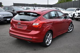 2013 Ford Focus LW MkII Titanium PwrShift Red 6 Speed Automatic Hatchback