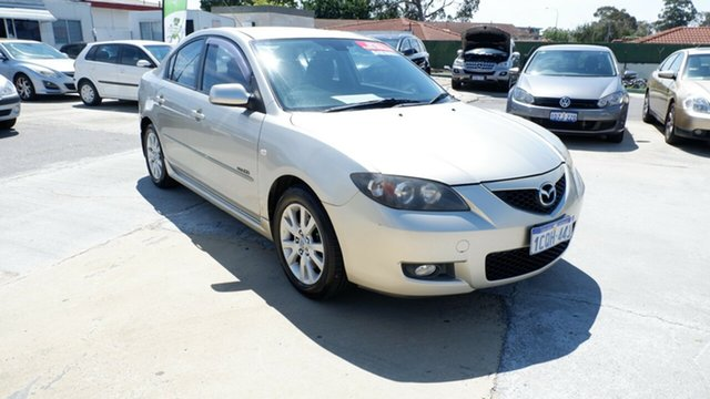 Used Mazda 3 BK10F2 MZR-CD St James, 2007 Mazda 3 BK10F2 MZR-CD Gold 6 Speed Manual Sedan