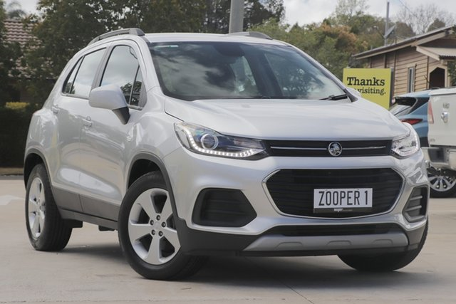 Used Holden Trax TJ MY19 LS, 2019 Holden Trax TJ MY19 LS Silver 6 Speed Automatic Wagon