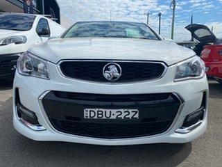 2015 Holden Ute VF II MY16 SV6 Ute White 6 Speed Sports Automatic Utility.